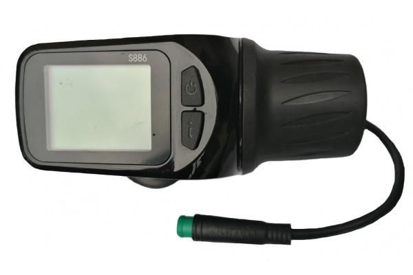 Ovládání plynu s LCD X-scooters XS01