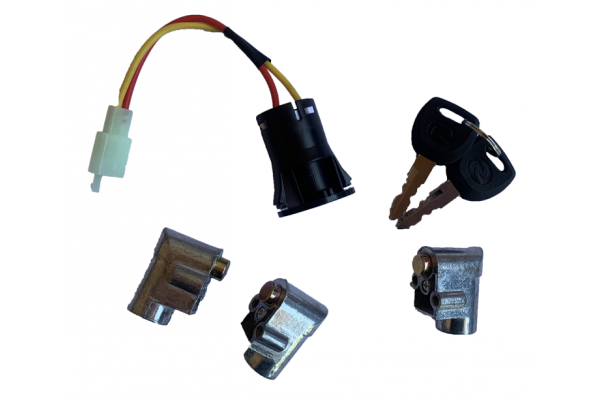Set of locks with switch  X-scooters XR05