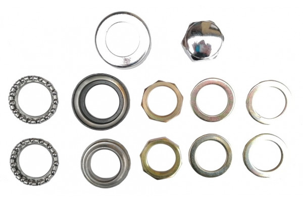 Steering bearings and nut X-scooters XR08