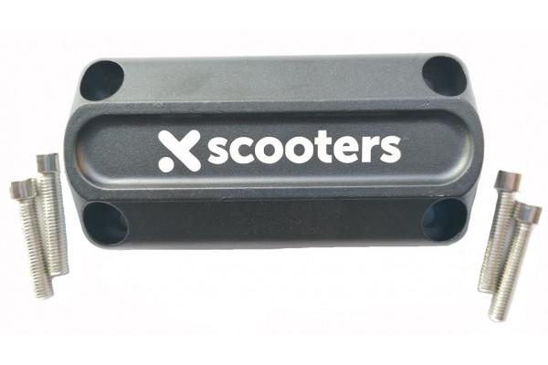 Horní část uchycení řídítek X-scooters XR08