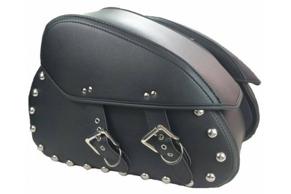 Leather side bags X-scooters