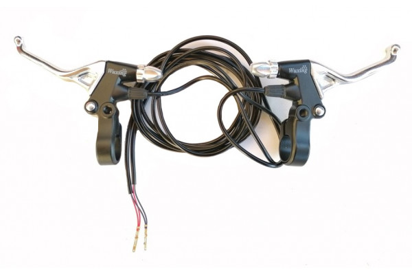 Brzdová páčka L+P chrom X-scooters XT01/XT02