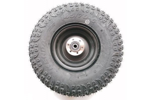 Rear wheel with tyre X-scooters XR04