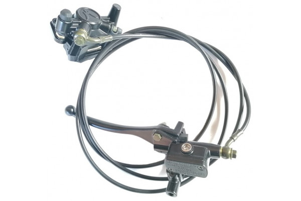 Rear brakes - assembly X-scooters XT05